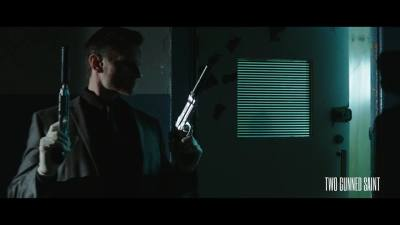 First Look Trailer for the UK Thriller TWO GUNNED SAINT Brings About Unholy Retribution