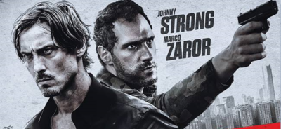Johnny Strong & Marko Zaror are INVINCIBLE on the Teaser Poster for the Upcoming Action-Thriller