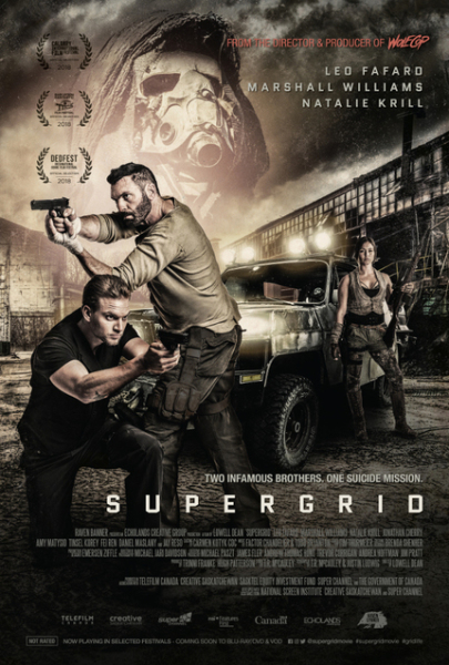 The High-Octane Action Film SUPERGRID is Set to Open Toronto's Blood In The Snow Fest