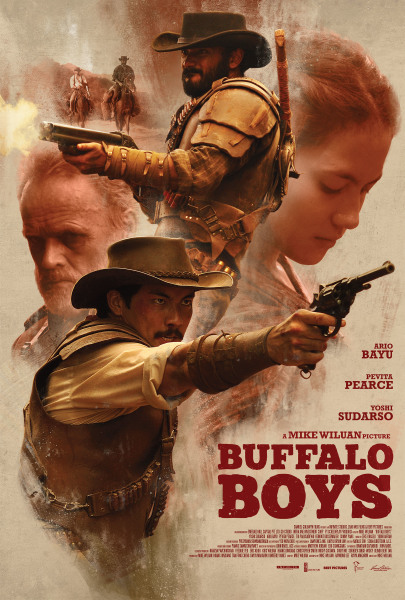 BUFFAL BOYS: The New Indonesian Western Debuts a New Domestic Trailer and Poster!