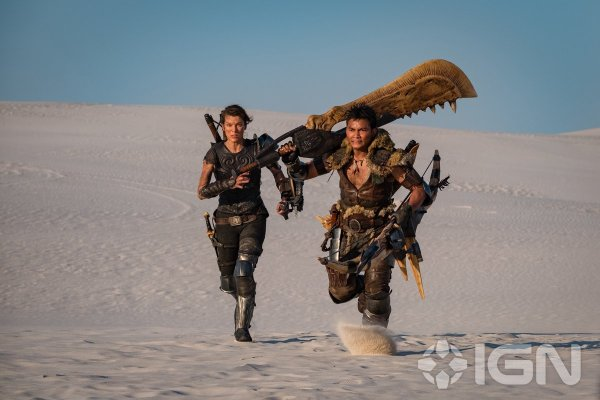 MONSTER HUNTER: Tony Jaa Releases a New Pic of Him and Milla Jovovich as Production is Underway!