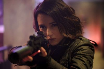 Julie Estelle is THE OPERATOR in a Deleted Scene from THE NIGHT COMES FOR US