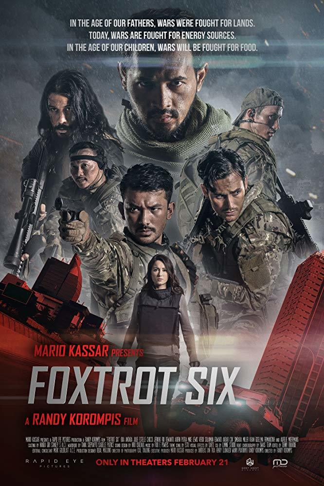 Update Dvd Cover Art Is Here Foxtrot Six The Epic Indonesian Action Thriller From Producer Mario Kassar Hits Dvd On April 14th Action Flix Com