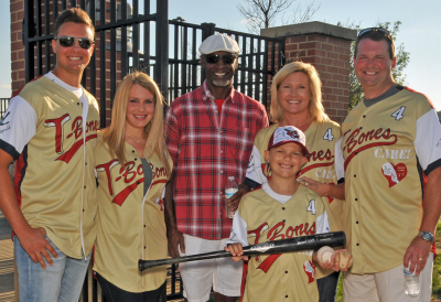Willie Wilson with the Sprinkle Family