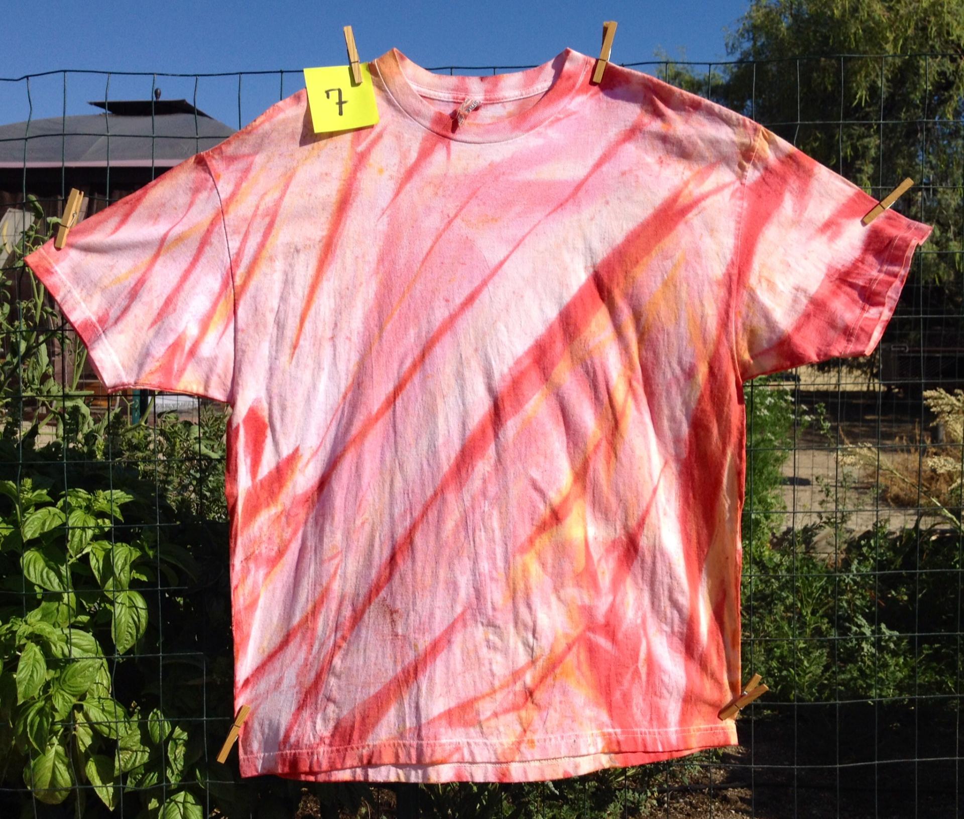 Spray died Stripes
