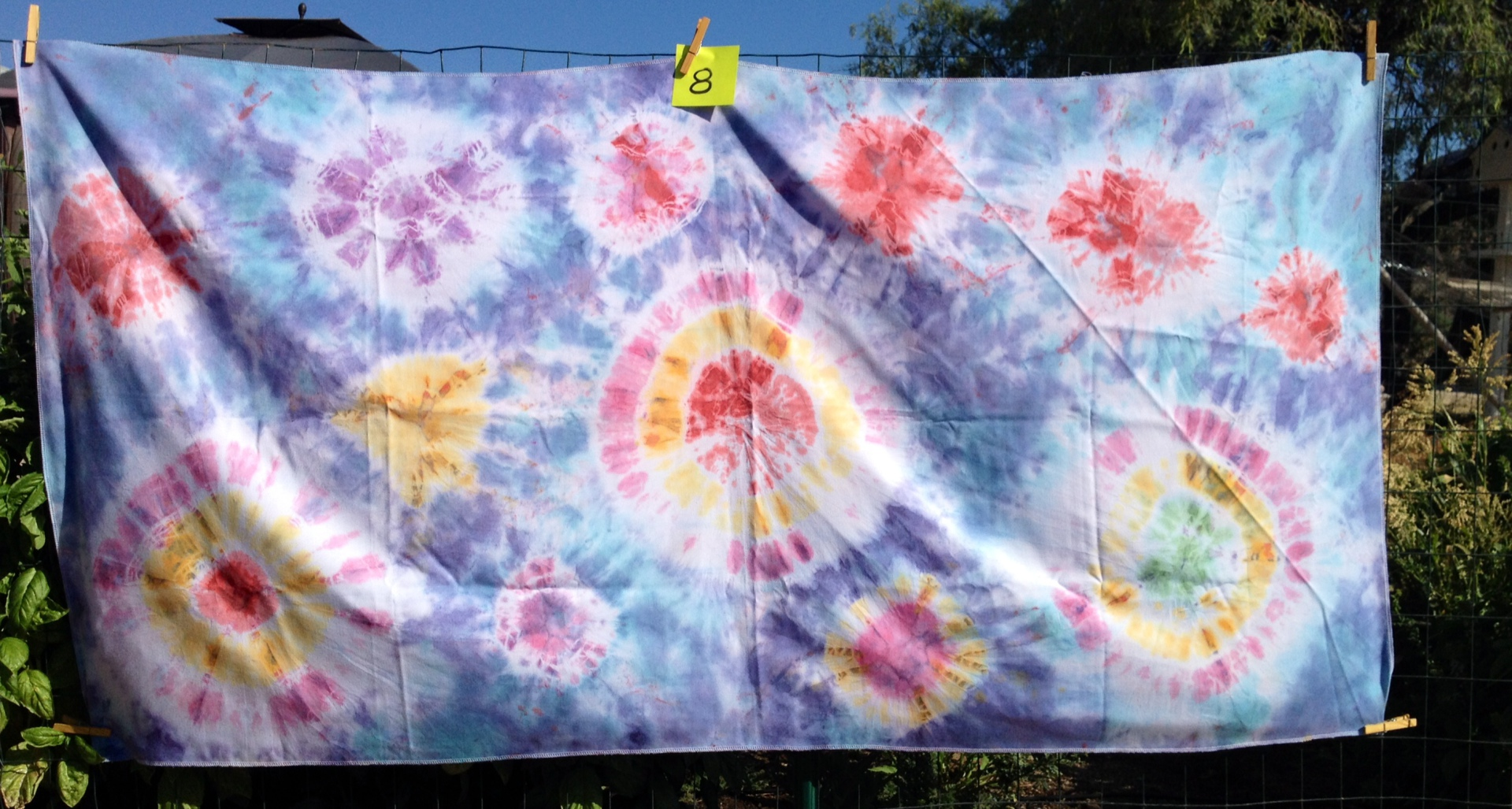 Rosette tie sarong