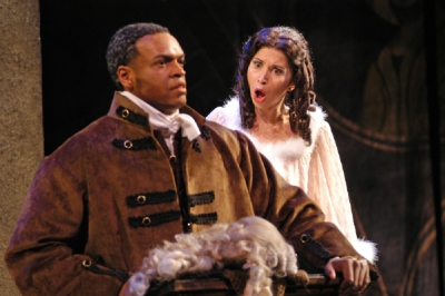 As Elmire in Mechem's Tartuffe  with Kenneth Kellogg