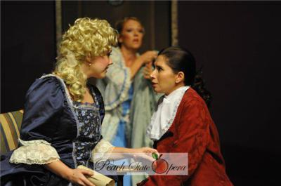 As Cherubino in The Marriage of Figaro with Amy Little