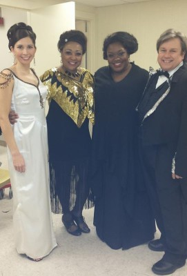 Soloists in Sophisticated Ladies (with Jewel Lucien, Kayce Grogan-Wallace and George Deavours)