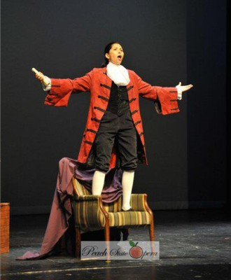 Cherubino in The Marriage of Figaro
