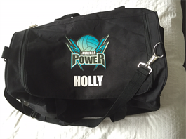Club Bag with name printed - $40