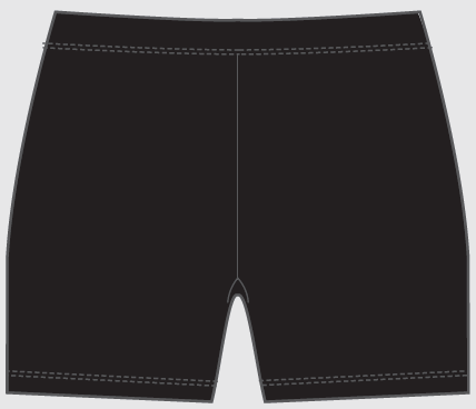 2017 Bike Shorts - Back - $30