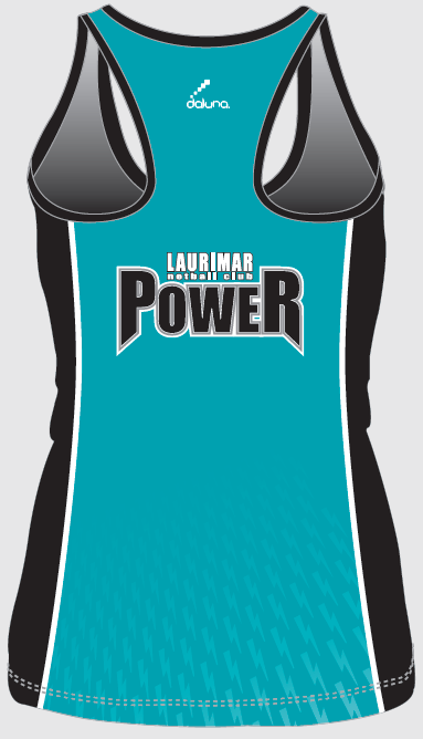 2017 Teal Training Singlet - Back - $30