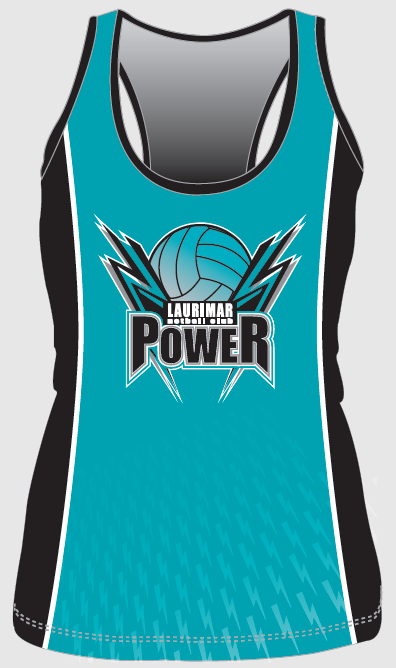 2017 Teal Training Singlet - Front - $30