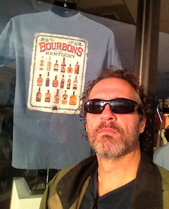Mike with Bourbon T-Shirt