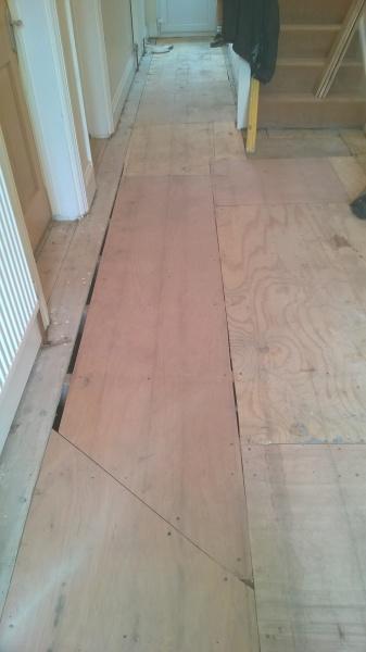 Floor Re-lay, Refurbishment