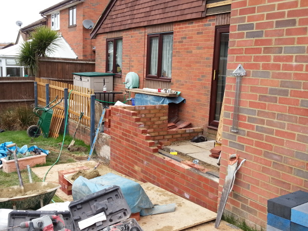 Garage and Porch Extension