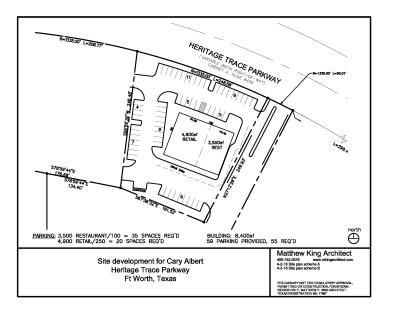 Heritage Trace Phase II - Heritage Trace Pkwy, Fort Worth, TX 76244 Retail Center Coming Soon!   8,400 Sq. Ft.