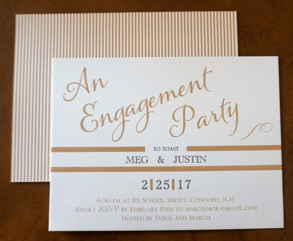 Custom Design by Portsmouth Invitation Company