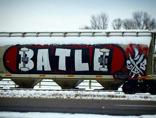 RIP Batle Skateboard Train