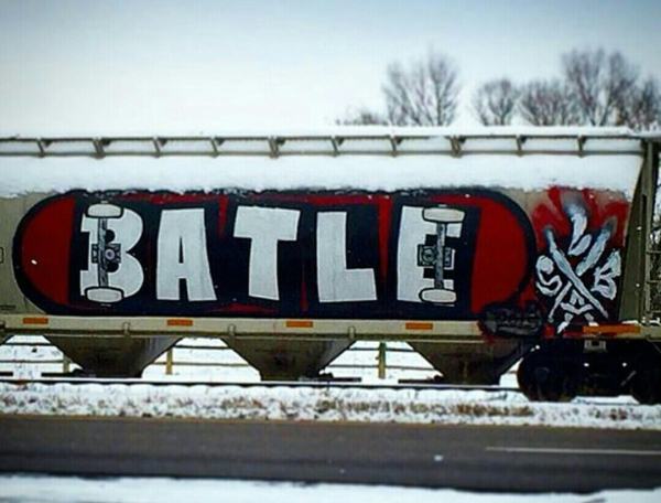RIP Batle Skateboard Train