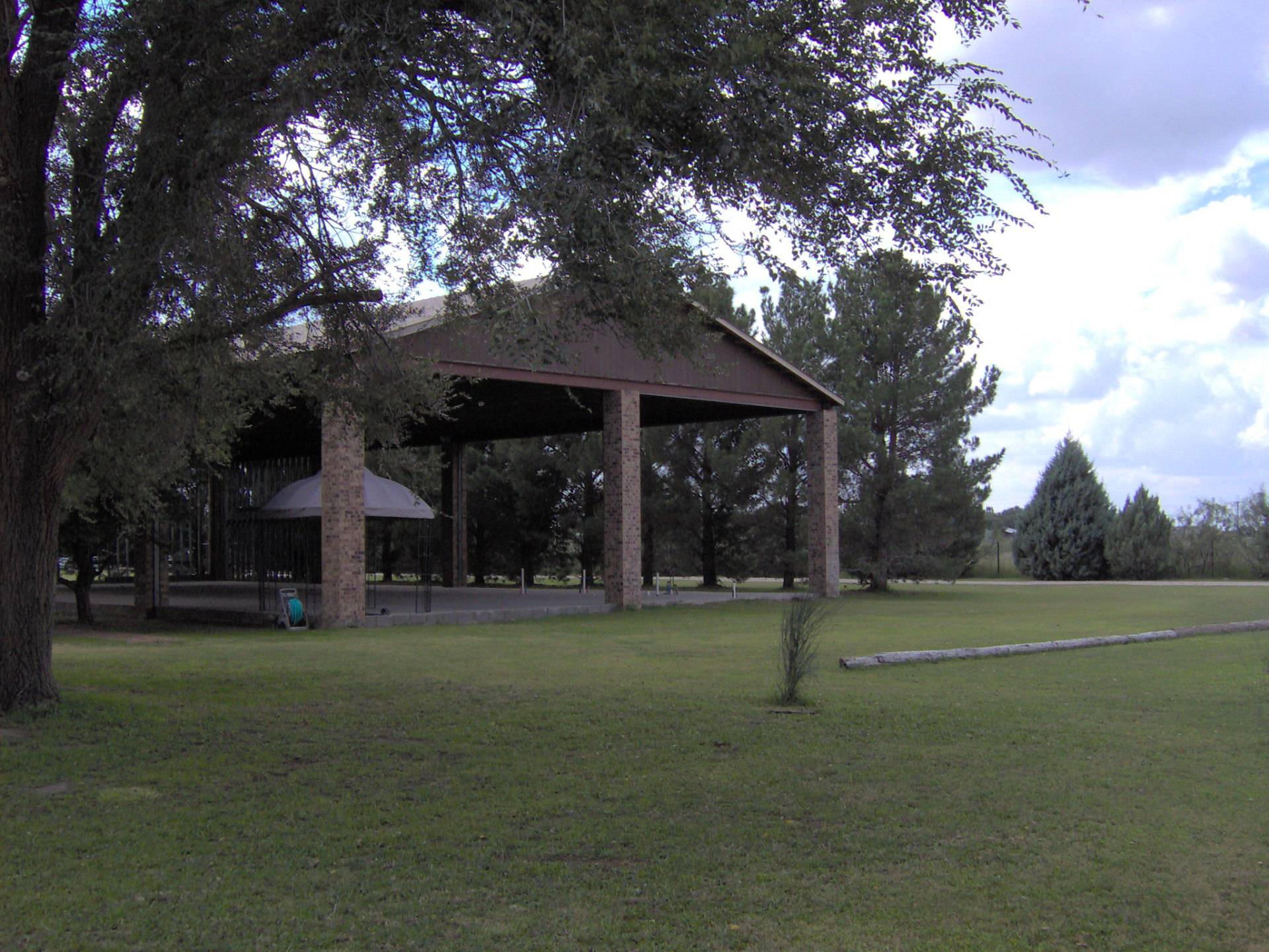 Open air tabernacle front
