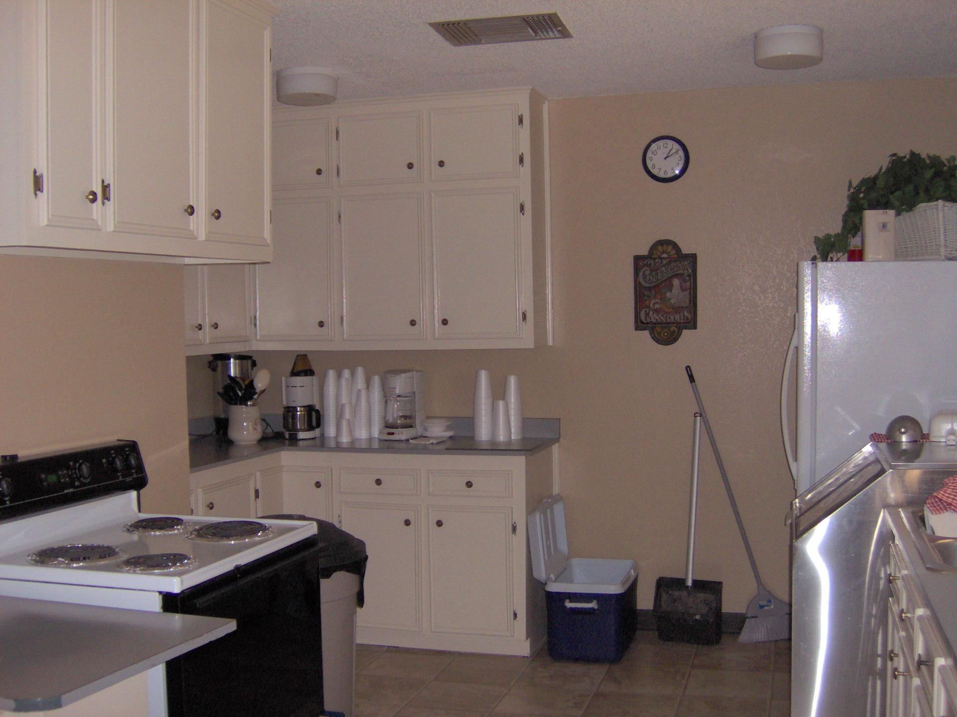 Kitchen in dormitory