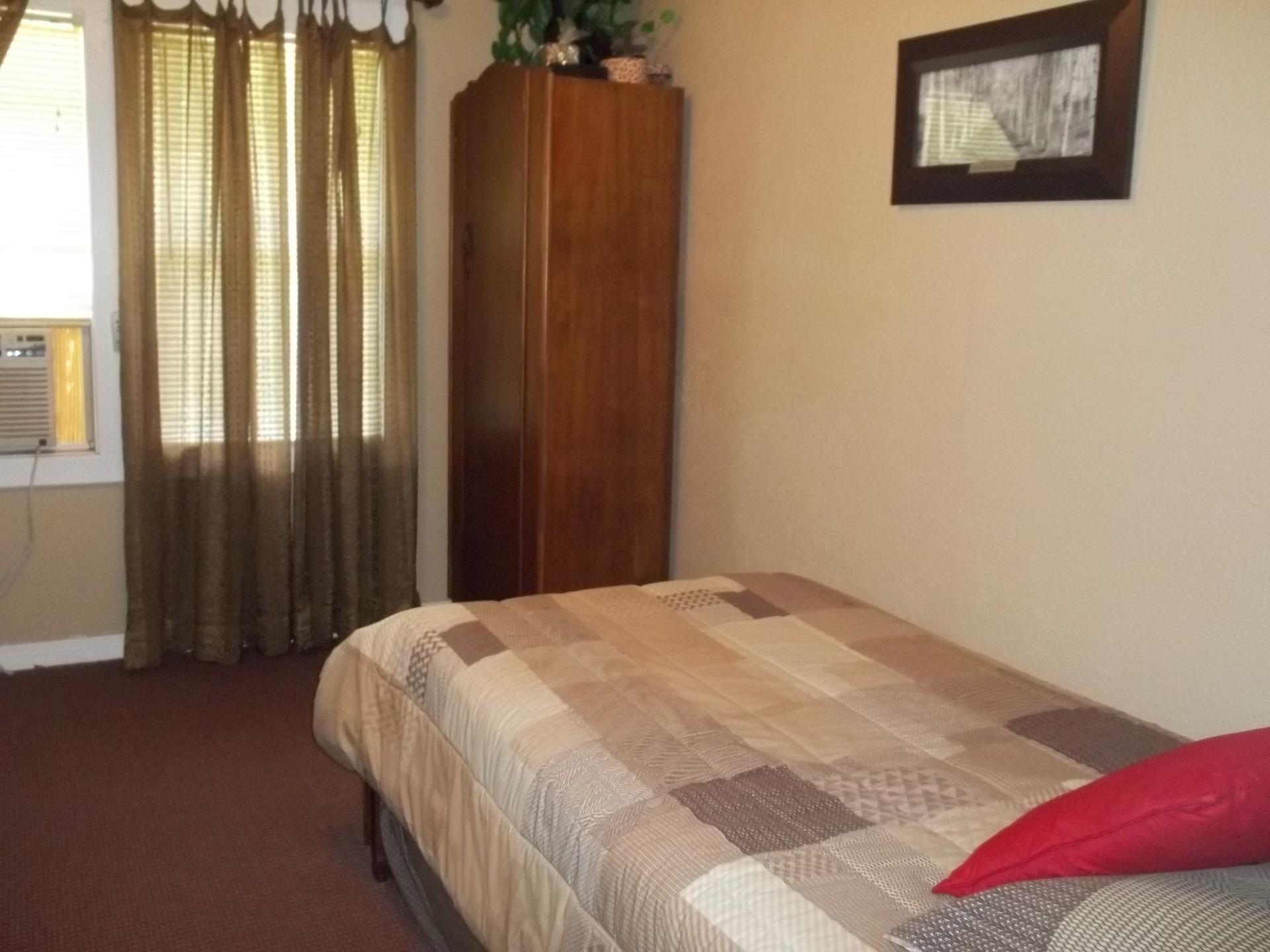 Bedroom in dormitory