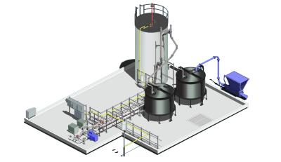 PEG生物质废能转化产沼气发电系统