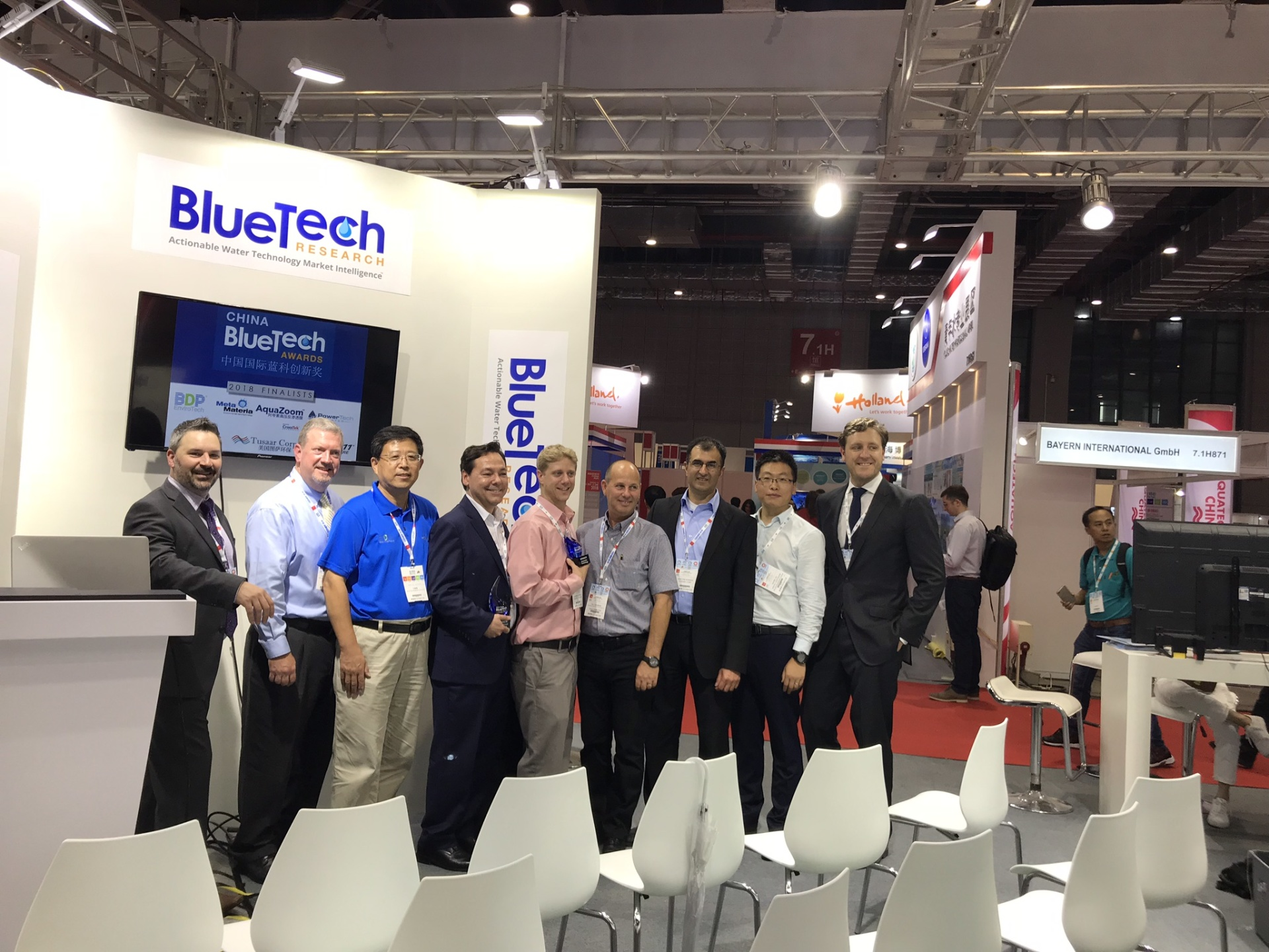 ALCLE Successfully Co-hosted 2018 China BlueTech Awards