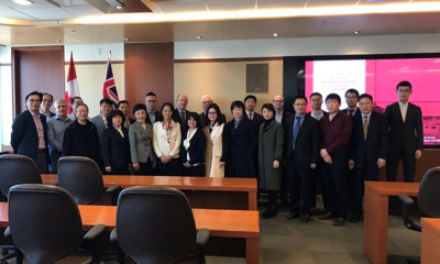 Jiangsu-Ontario Cleantech Roundtable Meeting was Held in Toronto