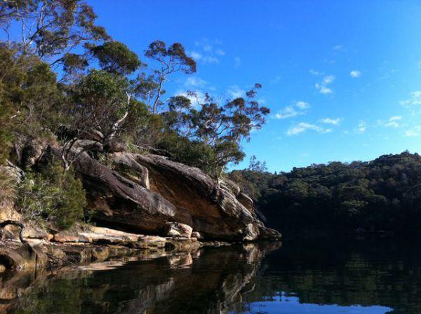 Sugar Loaf  in Sydneys Middle Harbour Hire a boat
