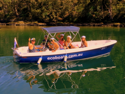 Friends sailing party boat hire in Sydney