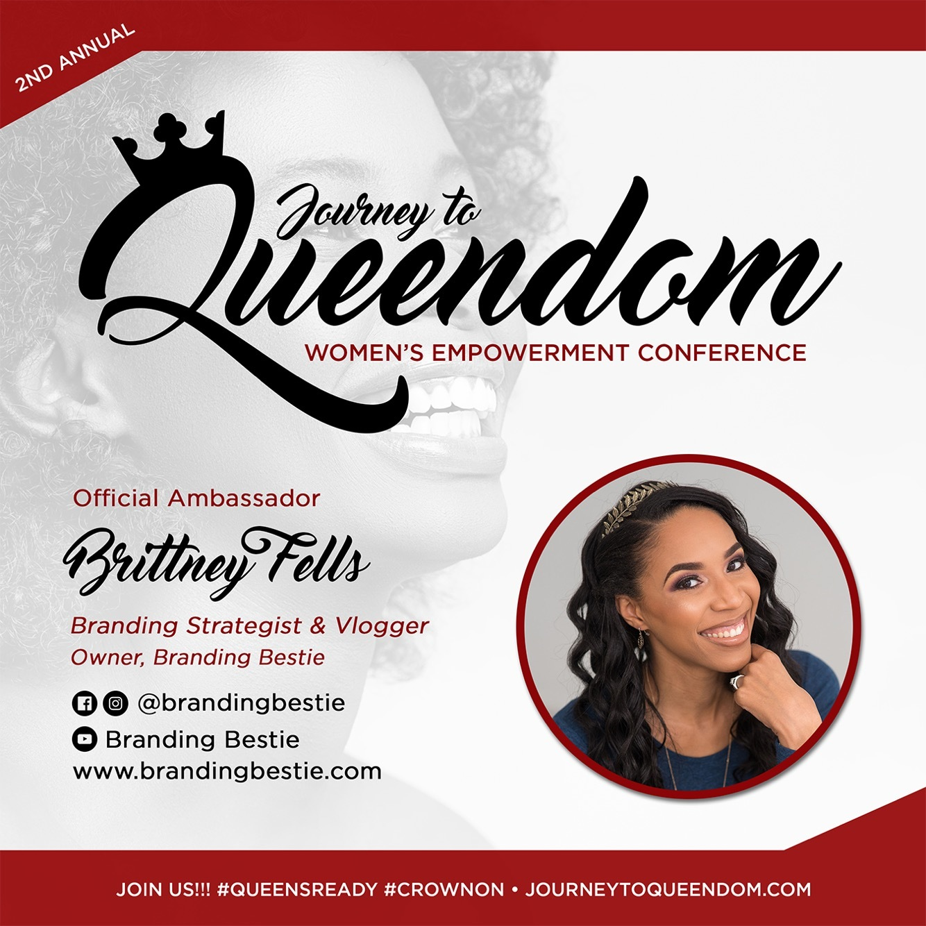 Journey To Queendom's Creative Director & Ambassador