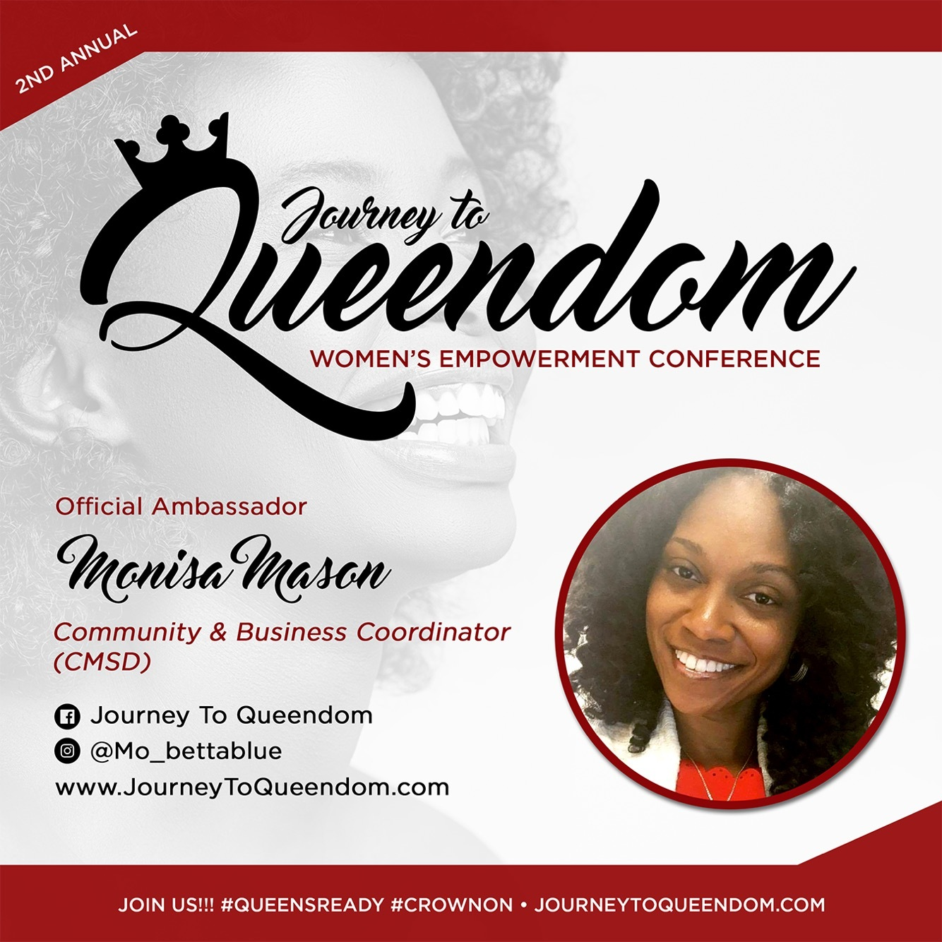 Journey To Queendom Returning Ambassador