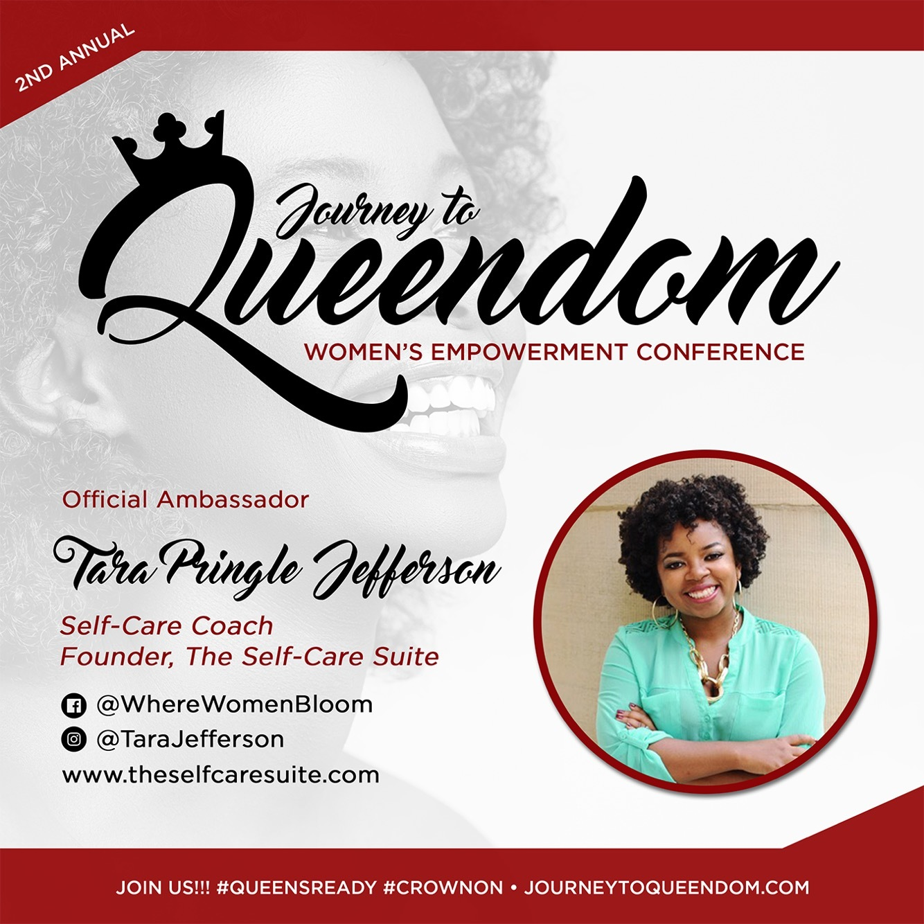 * NEW * Journey To Queendom Ambassador