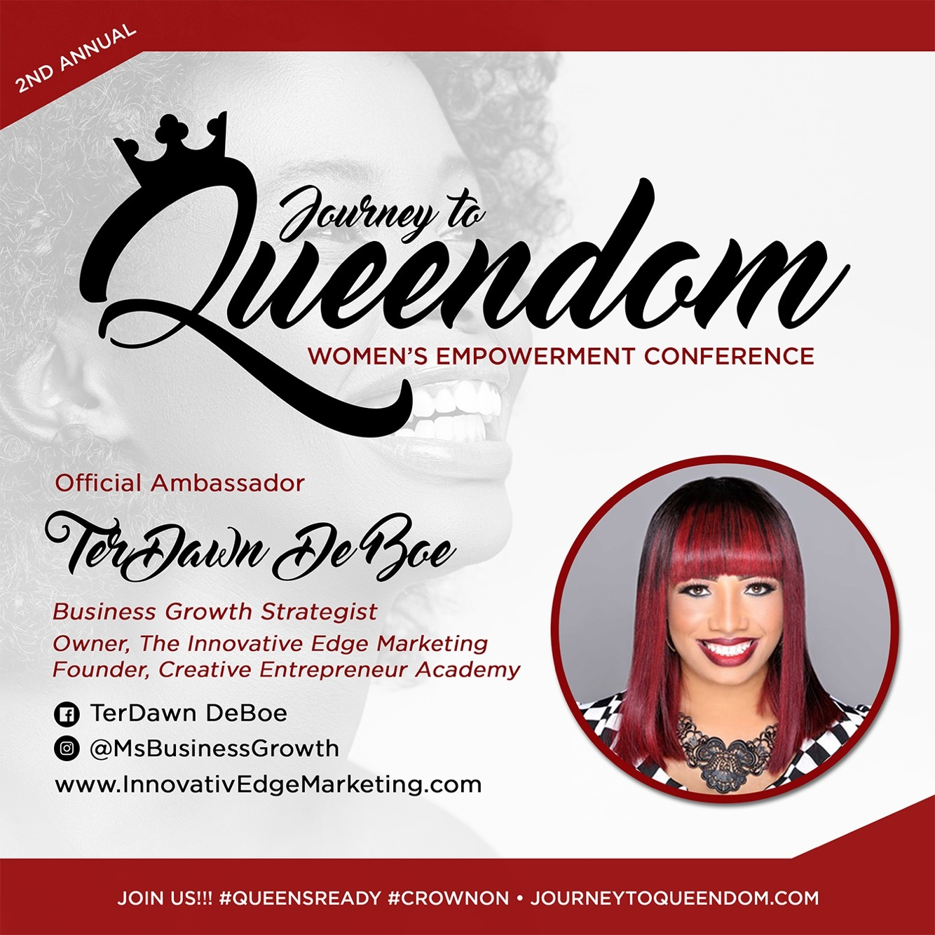 *NEW* Journey To Queendom Ambassador
