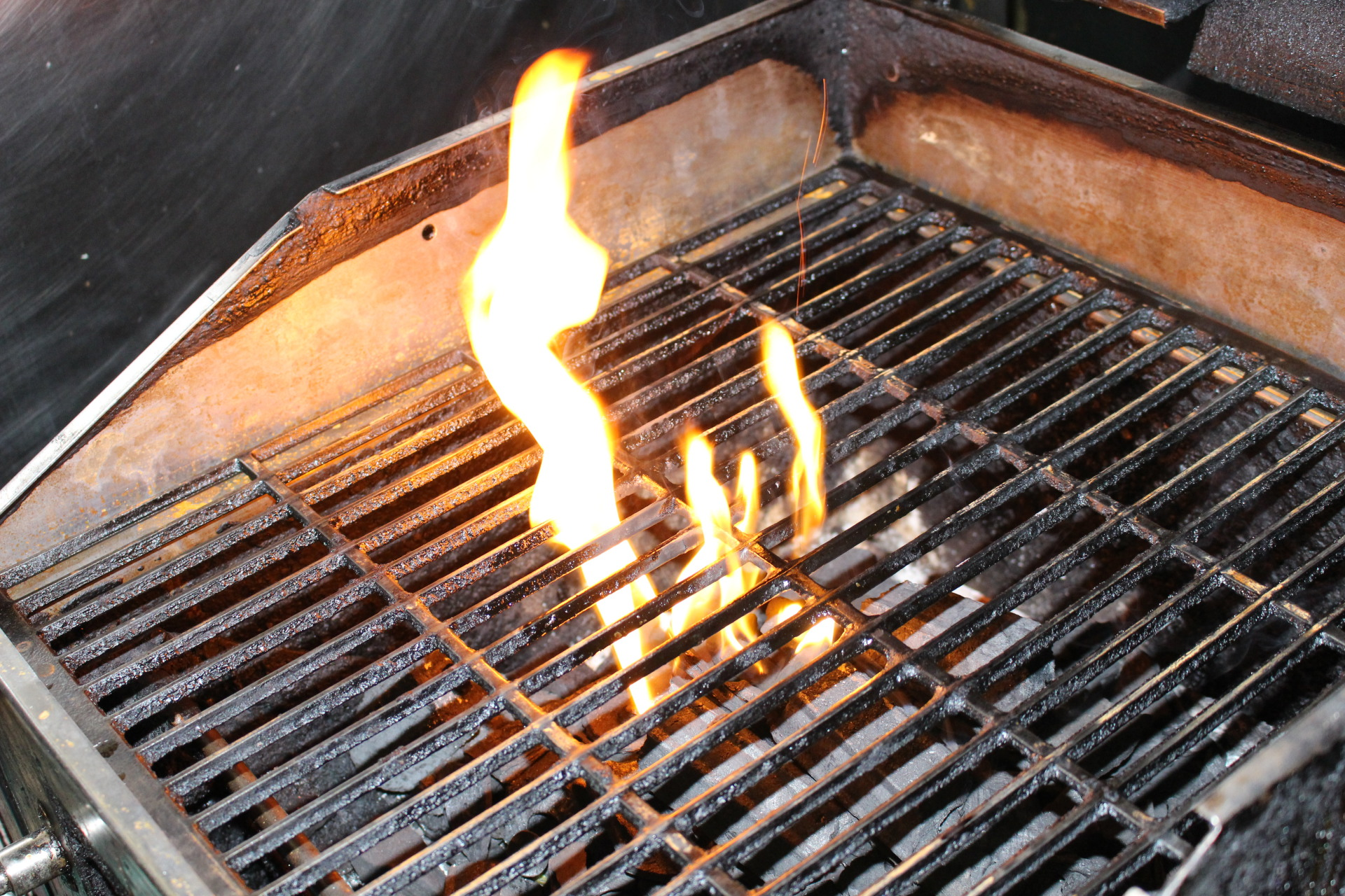 every day our grill is in action