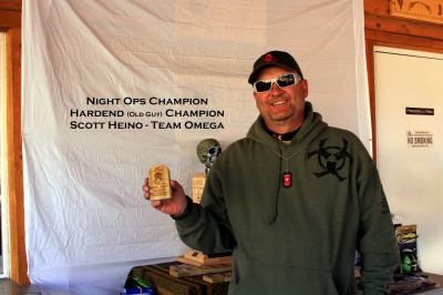 Night Ops , Hardened (OLD GUY) Champion NSZO 2014 - Scott Heino