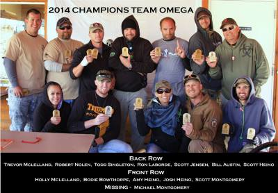 Team Omega NSZO Champions 2014