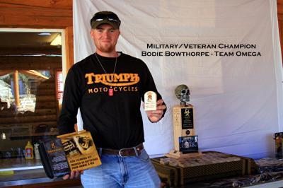 Military/Veteran Champion Bodie Bowthorpe - Team Omega 2014