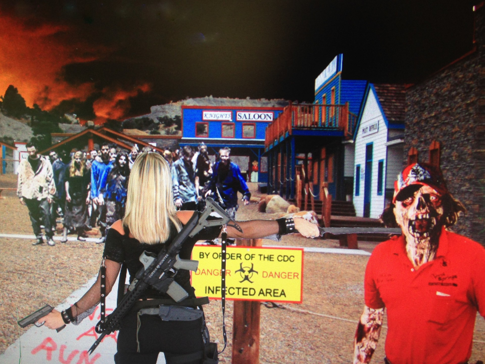 4th Annual North Springs Zombie Outbreak 2015