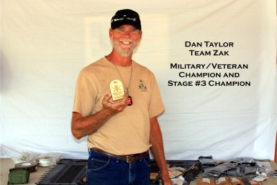 Dan Taylor- Military/ Veteran Champion and Stage #3 Champion