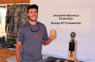 Jackson Nichols- Stage #7 Champion