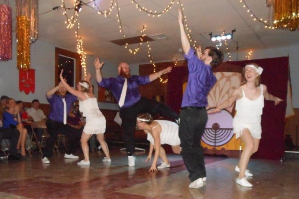 """Performance by Houston Swing Dance Society's """"Hepcats"""""""