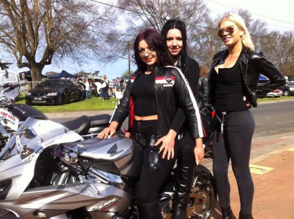 Girls love colins bike