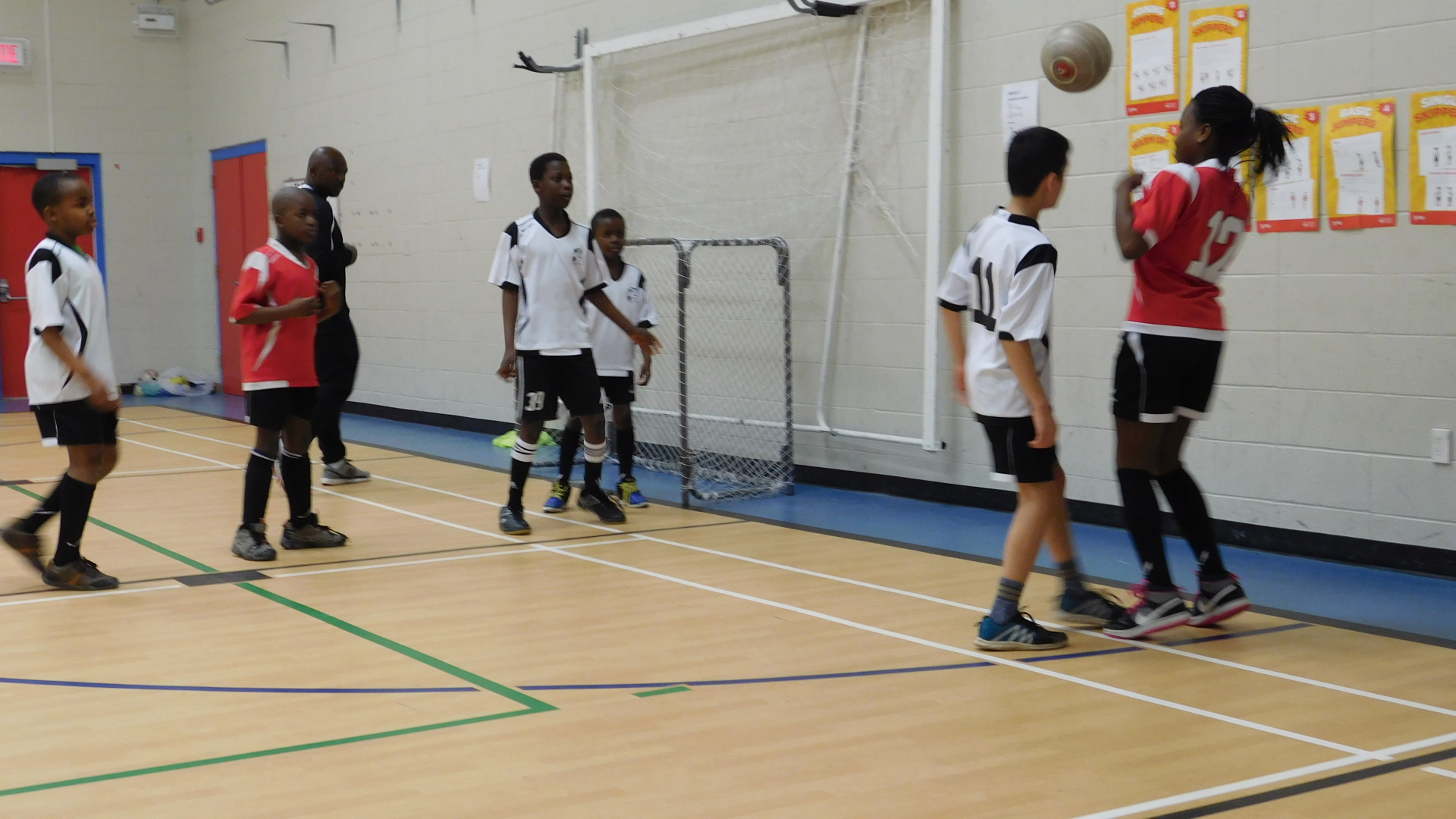 Soccer Practice: Child