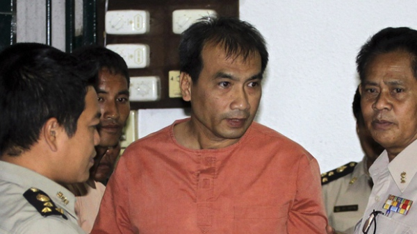 American imprisoned for defaming Thai king