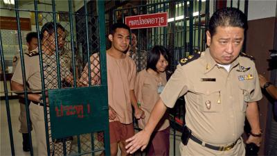 Thai pair jailed for defaming monarchy in school play