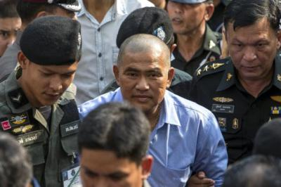 Three jailed as Thai police launch sweeping royal defamation probe